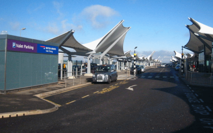 One of the drop off zones at Heathrow Airport | Hillingdon Today
