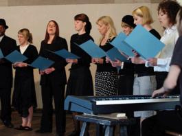 Choir rehearsing   Hillingdon Today