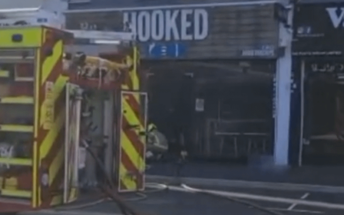 Fish and Chip Shop Fire   Hillingdon Today