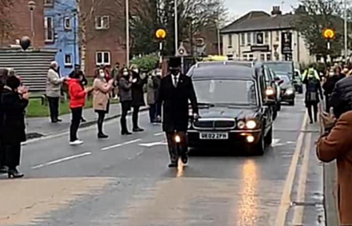 Funeral Cortege for Lotwina Bowa