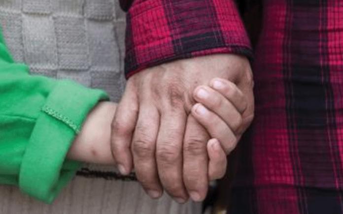 Holding hands   Hillingdon Today