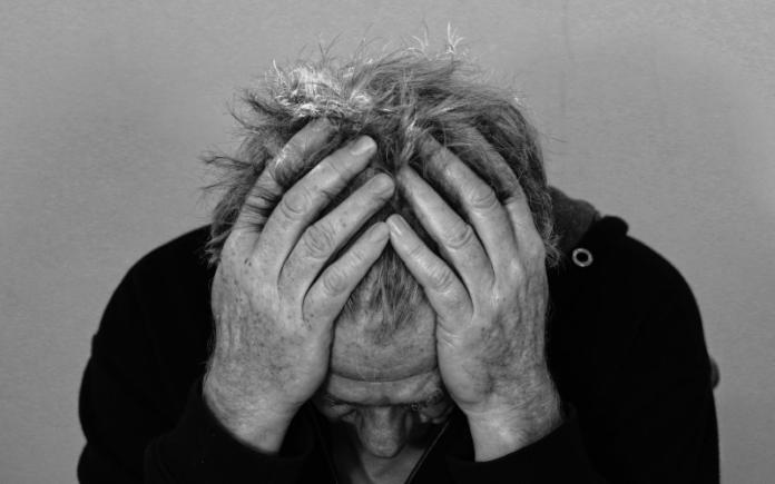 Male victim of domestic abuse