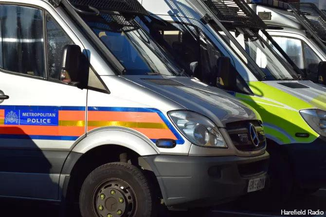Met Police Van