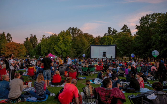 A free outdoor film being shown back in 2019 | Hillingdon Today